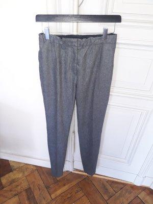 Prada Pantalón de lana gris antracita Lana