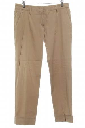 Prada Low-Rise Trousers beige business style