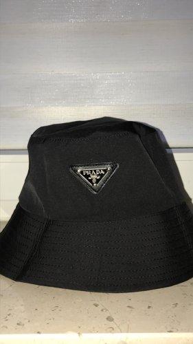 keine Marke Bucket Hat black-silver-colored