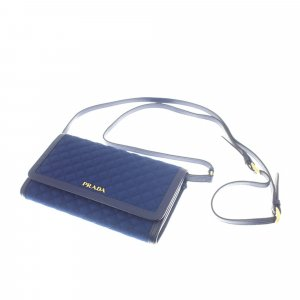Prada Impuntu Tessuto Wallet on Strap