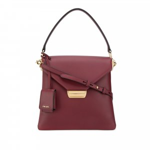 Prada Ingrid Leather Satchel