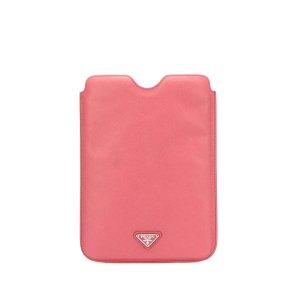 Prada Minibolso rosa Cuero
