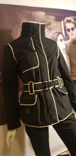 Prada Overgangsjack wit-zwart