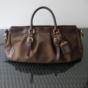Prada Jacquard Bag Tasche Braun Original