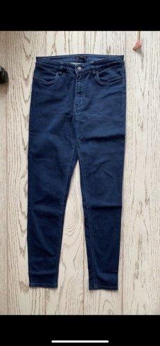 Prada Jeans cigarette bleu-bleu foncé