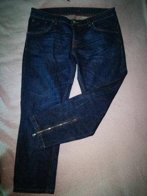 Prada Jeans a 3/4 blu-blu scuro