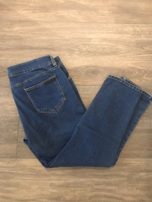 Prada Pantalon capri bleu