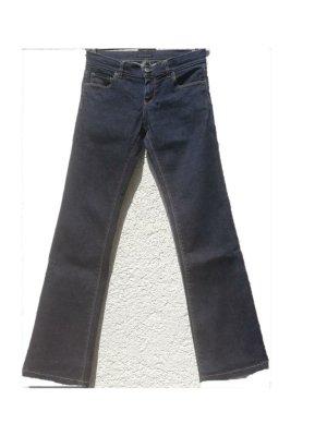 Prada Straight Leg Jeans dark blue-blue cotton
