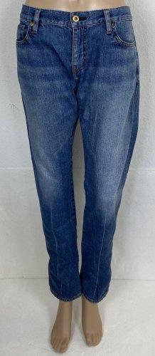 Prada Jeansy rurki niebieski Bawełna