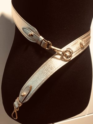 Prada Leather Belt gold-colored