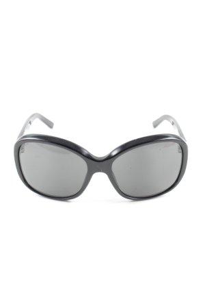 Prada Karée Brille schwarz Casual-Look