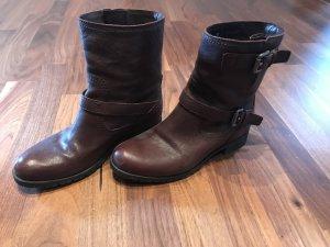 Prada Laarzen donkerbruin-bruin