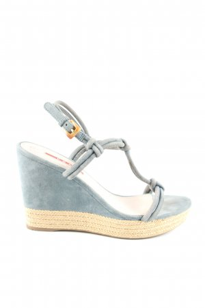 Prada Keil-Pumps blau Casual-Look