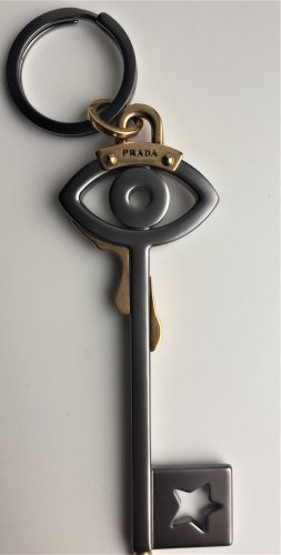 Prada key-chain