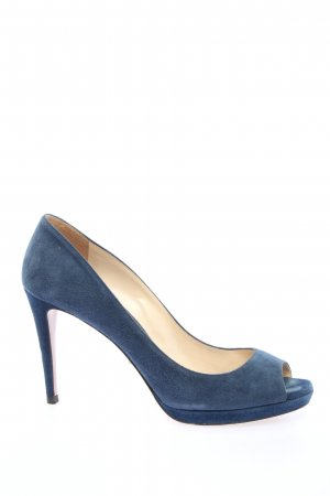 Prada Klassische Pumps blau Casual-Look
