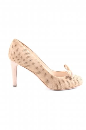 Prada Klassische Pumps creme Business-Look