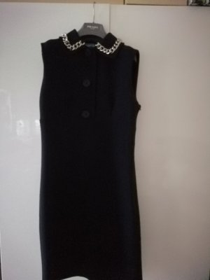 Prada Woolen Dress dark blue