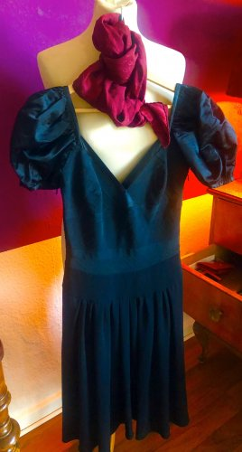 Prada Robe épaules nues noir