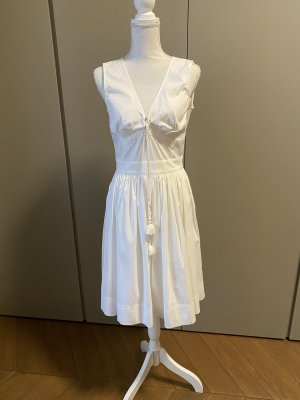 Prada Midi-jurk wit