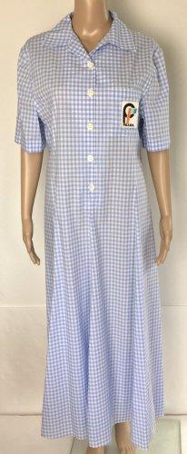 Prada, Kleid, Blau-Weiß, Baumwolle, 40 (It. 44), neu, € 1.500,-
