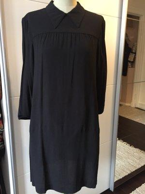 Prada Kleid Langarm schwarz 36