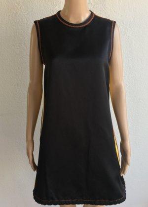 Prada, Kleid/Top, schwarz-gelb, Seide, 38 (It. 42), neu, € 1.200,-