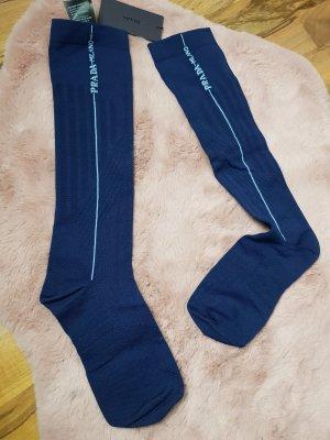 Prada Leggings blu scuro-azzurro