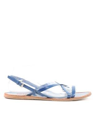 Prada Komfort-Sandalen blau Casual-Look