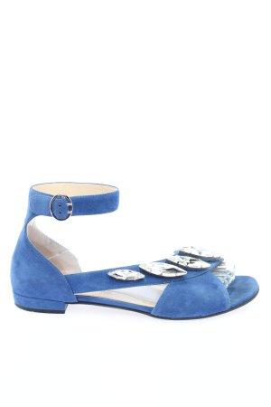 Prada Comfortabele sandalen blauw casual uitstraling