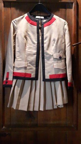 Prada Kostüm Jacke & Rock Wolle Gr.34/XS