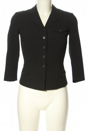 Prada Kurz-Blazer schwarz Business-Look