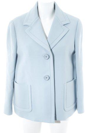 Prada Kurz-Blazer hellblau Business-Look