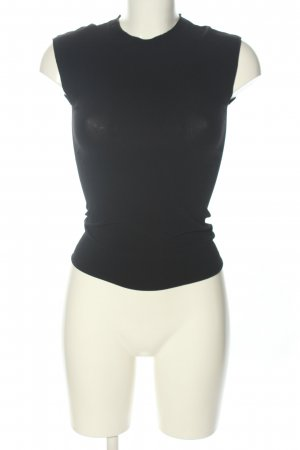 Prada Bluzka z krótkim rękawem czarny W stylu casual