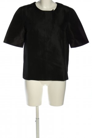 Prada Kurzarm-Bluse schwarz Business-Look