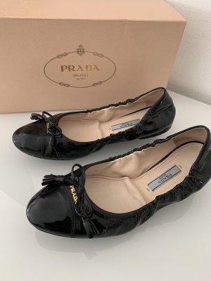 Prada Lackleder Ballerina Gr.36