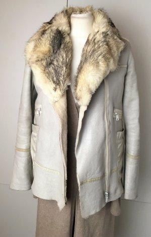 Prada Fur Jacket multicolored leather