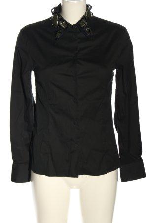 Prada Chemise à manches longues noir style d'affaires