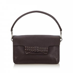 Prada Leather Baguette