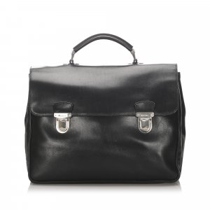 Prada Leather Business Bag