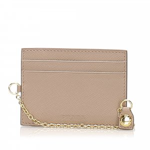 Prada Leather Card Case