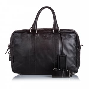 Prada Leather Duffle Bag
