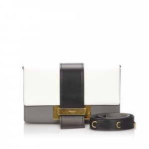 Prada Leather Ribbon Crossbody Bag