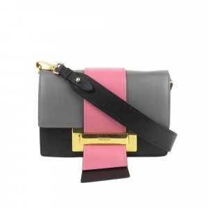 Prada Leather Ribbon Flap Bag
