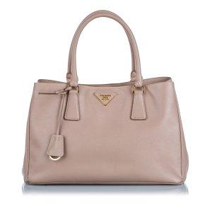 Prada Leather Saffiano Galleria Handbag