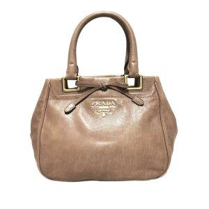 Prada Satchel light brown leather