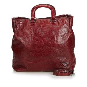Prada Leather Satchel Bag