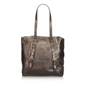 Prada Tote brown leather