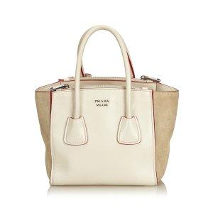 Prada Leather Twin Handbag