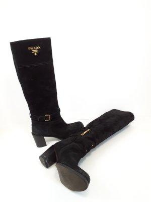 Prada Jackboots black