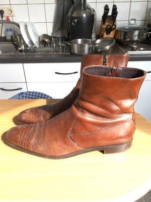 Prada Slip-on Booties brown